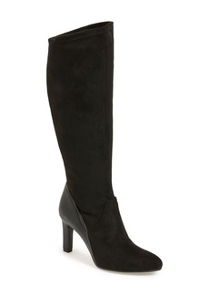 Franco Sarto 'Stampeed' Stretch Tall Boot (Women)