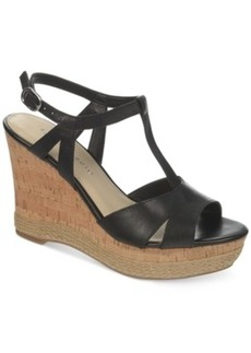 Franco Sarto Swerve Platform Wedge Sandals Women's Shoes