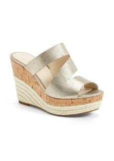 Franco Sarto 'Traction' Platform Wedge Slide Sandal (Women)