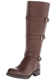 Franco Sarto Women's L Petite Wide Calf Motorcycle Boot