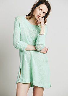 Cashmere Rolled Sleeve Pullover