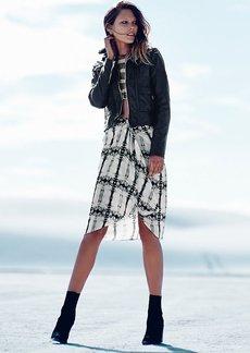Epiphany Print Skirt