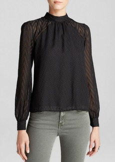 Free People Blouse - After Midnight