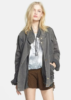 Free People 'Breakfast Club' Oversized Moto Jacket