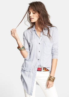 Free People 'Breakfast in Bed' Button Front Top