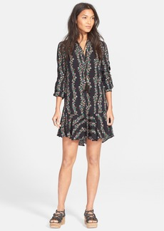 Free People Button Front Shirtdress