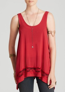 Free People Cami - Outlined High Low