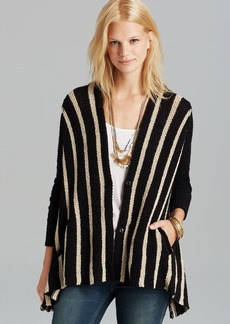 Free People Cardigan - Circle Back Stripe