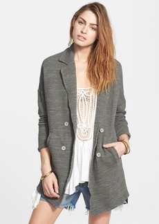 Free People 'Casual Friday' Double Breasted Blazer