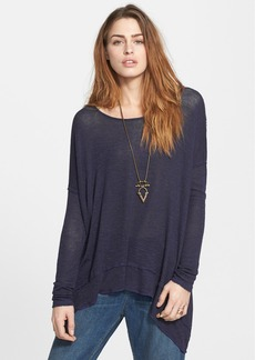 Free People 'Chasing You' Drop Shoulder Hacci Top