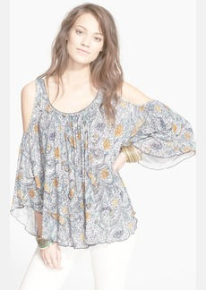 Free People 'Chloe' Cold Shoulder Tee