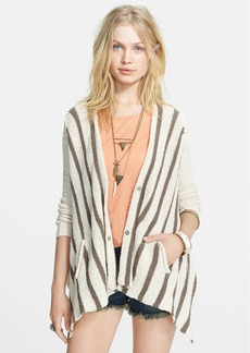 Free People 'Circle Back' Stripe Cardigan