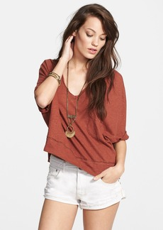 Free People 'Crescent Moon' Jersey Pullover Top