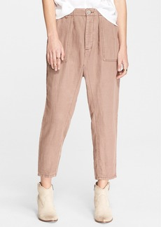 Free People Crop Utility Pants