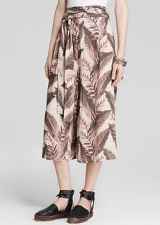 Free People Culottes - Printed High Rise