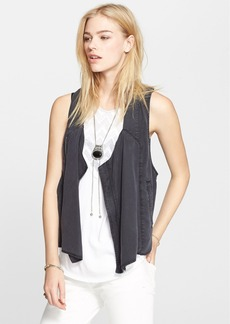 Free People Cutout Back Vest