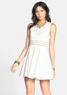 Free People 'Daisy' Lace Fit & Flare Dress