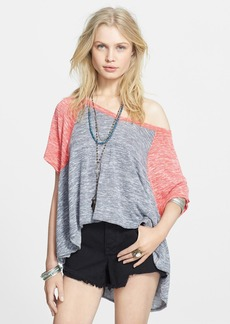 Free People 'Dancing in the Rain' Hacci Swing Tee