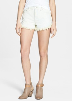 Free People 'Dolphin' Vintage Denim Cutoff Shorts (Glacier)