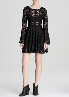 Free People Dress - Lace Lovers Folk Song