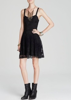 Free People Dress - Lace Overlay