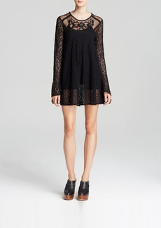 Free People Dress - Lace Rodeo Bella