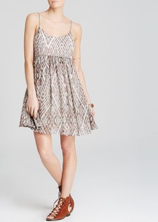 Free People Dress - Periscopes In The Sky Babydoll