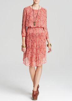 Free People Dress - Printed Charlotte Midi