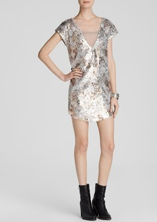 Free People Dress - Shattered Glass Midnight Dreamer Sequin