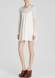 Free People Dress - Sheer Lace Rodeo Bella