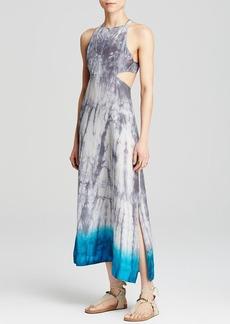 Free People Dress - Tie Dye Silk