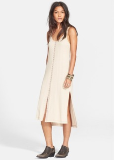 Free People 'Drop Needle' Ribbed Tunic Dress