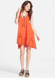 Free People 'Easy Livin' Lace Hem Slipdress