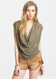 Free People 'Fantasy' Cowl Neck Tee