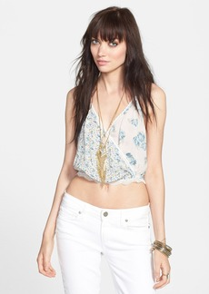 Free People 'Flowers in My Dreams' Crop Camisole