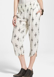 Free People Gauzy Print Pants
