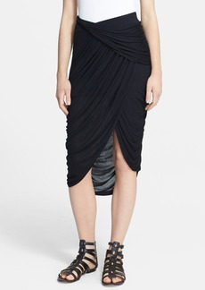 Free People 'Grecian Cascade' Shirred Skirt