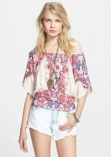 Free People 'Gypsy Queen' Banded Top