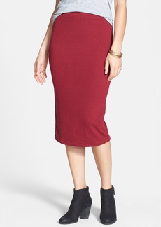 Free People 'Heart Breaker' Knit Midi Skirt