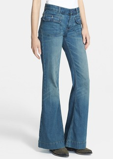 Free People High Rise Flared Jeans (Estrella)