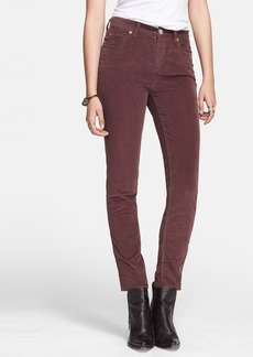 Free People High Rise Stretch Corduroy Pants