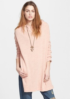 Free People 'In a Hurry' Side Vent Hoodie Sweater