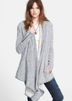 Free People 'In The Loop' Open Front Cardigan