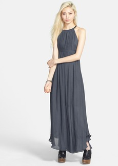 Free People 'In the Moment' Cutout Maxi Dress
