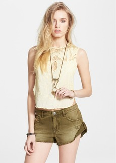 Free People 'Island in the Sun' Scalloped Voile Top
