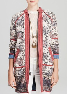 Free People Jacket - Reversible Vintage Chambray Quilted