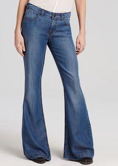 Free People Jeans - Denim Tencel Flare
