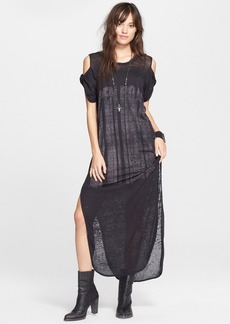Free People 'Kick Around' Cold Shoulder Maxi Dress