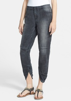 Free People 'Kristal' Paneled Snap Cuff Pants