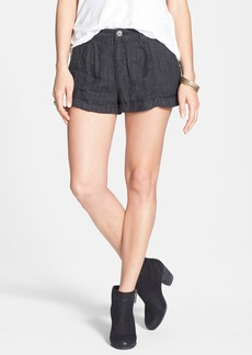Free People Linen Shorts